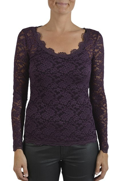Rosemunde blondebluse 5946, Blackberry