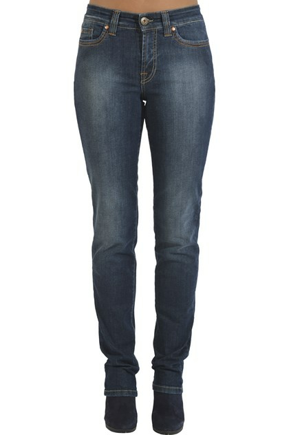 Jonny Q Super stretch denim dark 4060