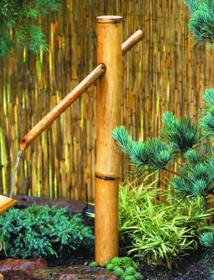 Bambus vandpost  H115cm