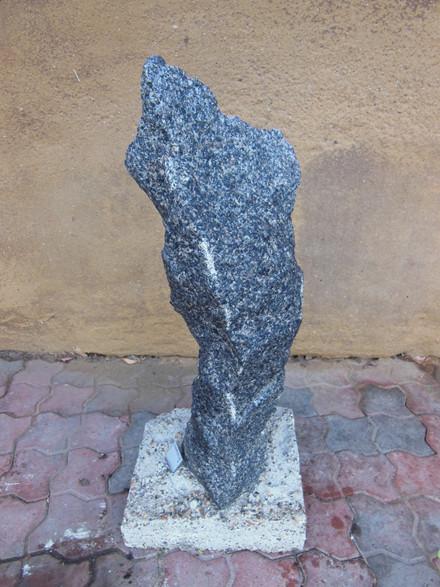 UNIK Søjlesten fra Thy Granit - H 64 cm