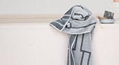Frotte, Håndklæder, Badehåndklæder, Vaskeklude