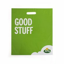 Arla plastic bag