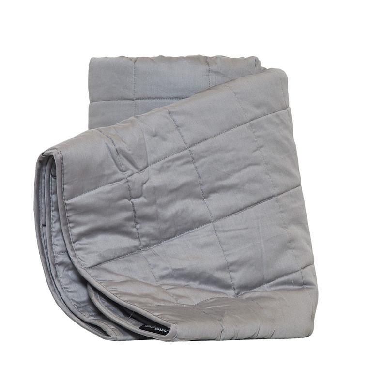 Stella sengetæppe grå 260x260