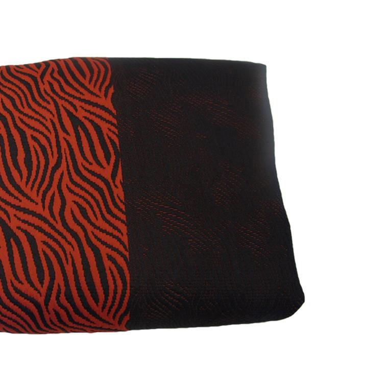 Cornelia sengetæppe rød/sort 280x260