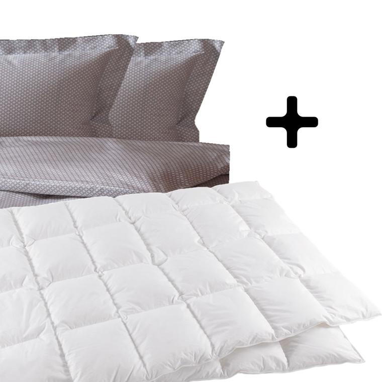 Dobbeltdyne inkl. Sac sengetøj 200x220
