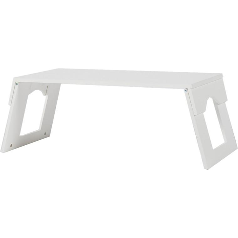 Morgengry bakkebord hvid