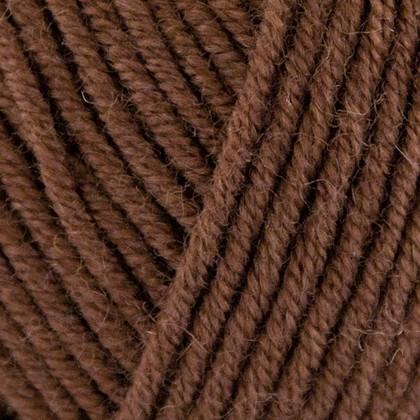 Superfine Merino, mørk brun