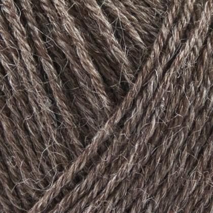 Nettle Sock Yarn, brun