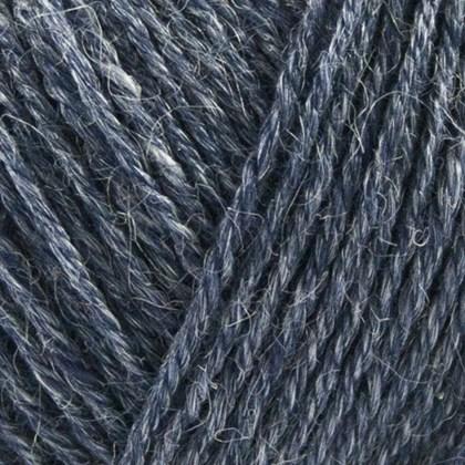 Nettle Sock Yarn, blå jeans
