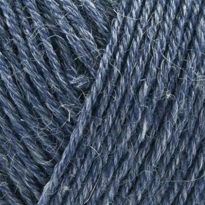 Nettle Sock Yarn, mørk blå