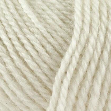 No.3 Organic Wool+Nettles, råhvid
