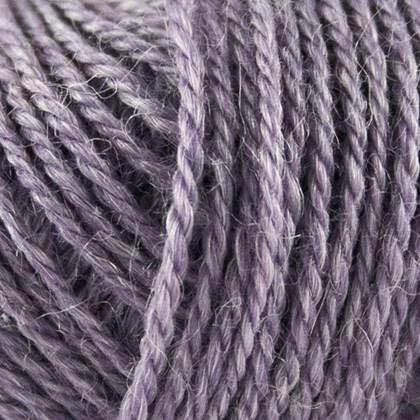 No.3 Organic Wool+Nettles, lys lilla