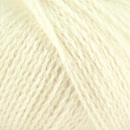 Alpaca+Merino Wool+Nettles, råhvid