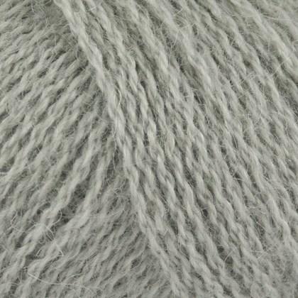 DENNE VARE ER DESVÆRRE I RESTORDRE - Alpaca+Merino Wool+Nettles, lys grå