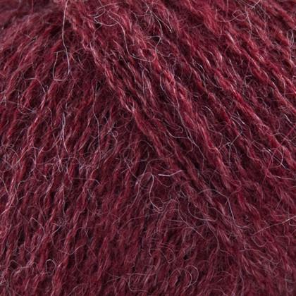 Alpaca+Merino Wool+Nettles, vinrød