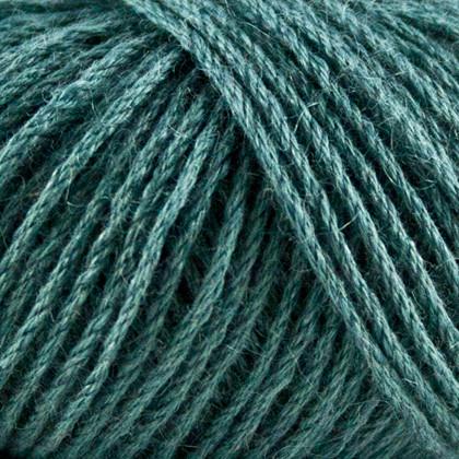 Organic Cotton+Nettles+Wool, grøn petrol