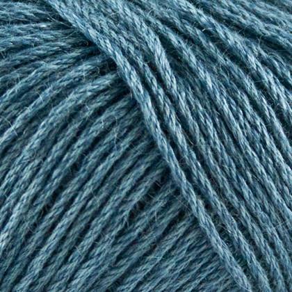 Organic Cotton+Nettles+Wool, blå petrol