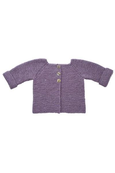 Retstrikket ud i´et trøje (børn)