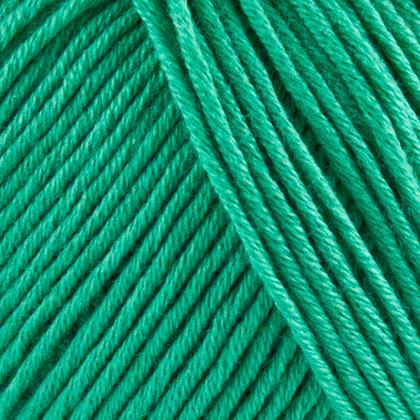 Organic Cotton, safir grøn