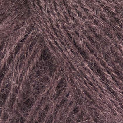 Mohair+Nettles+Wool, mørk brun