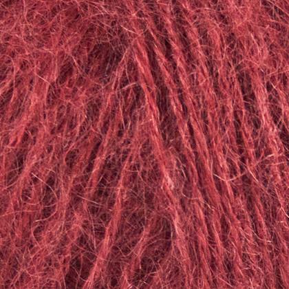 Mohair+Nettles+Wool, vinrød