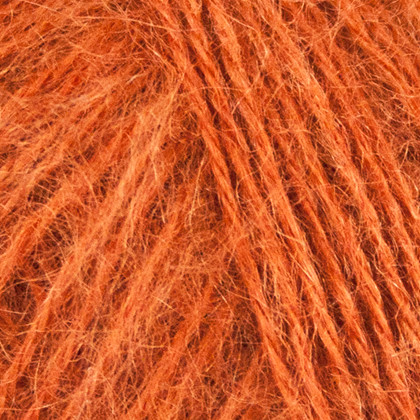 Mohair+Nettles+Wool, orange