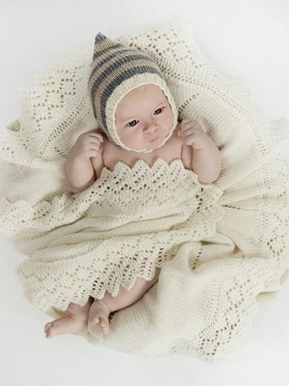 Rundt Babytæppe