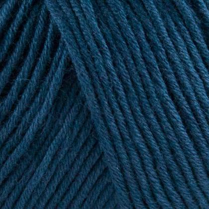 Organic Cotton, dyb blå