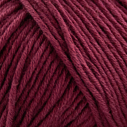 Organic Cotton, bordeaux