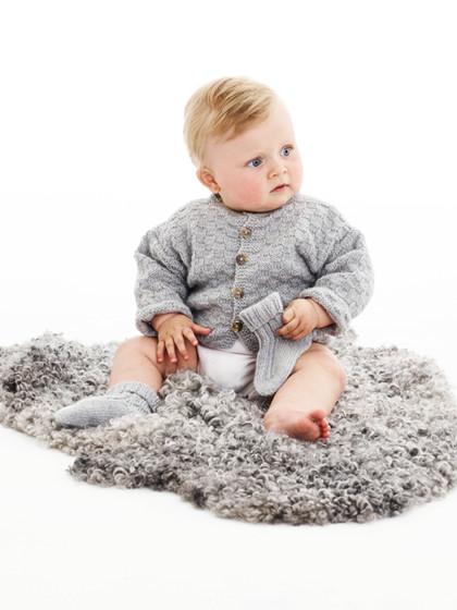 Babytrøje med tern (Baby)