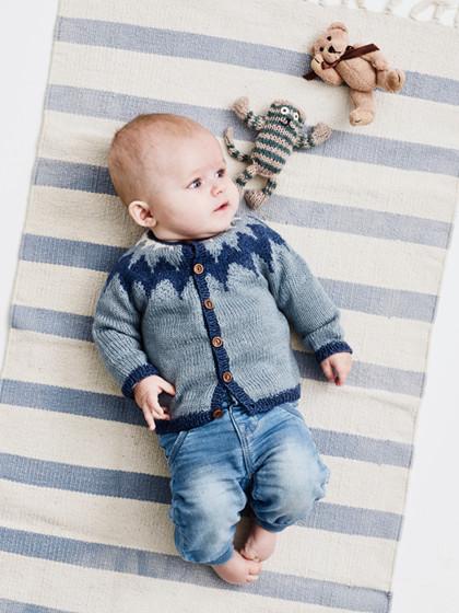 Babytrøje med nordisk mønster(baby)