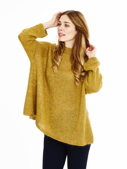SMUG KIG - Gylden sweater
