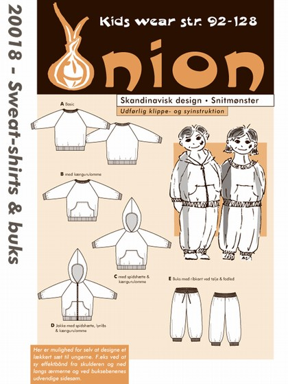 Snitmønster, Sweat-shirts & buks