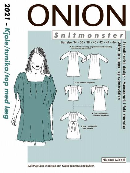 Snitmønster, Tunika kjole