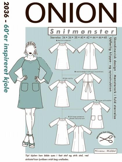 Snitmønster, 60´er inspireret kjole