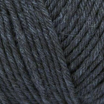 Tussah Silk, mørk grå