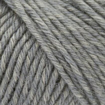 Tussah Silk, lys grå