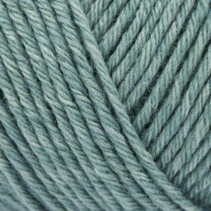 Tussah Silk, douce blå