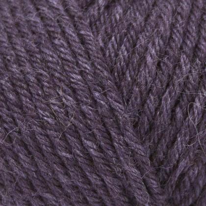 Tussah Silk, mørk lilla