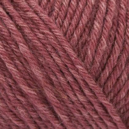 Tussah Silk, støvet rosa