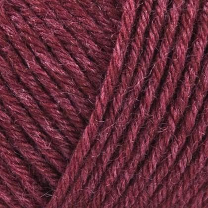 Tussah Silk, vinrød
