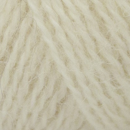 Mohair+Wool, råhvid