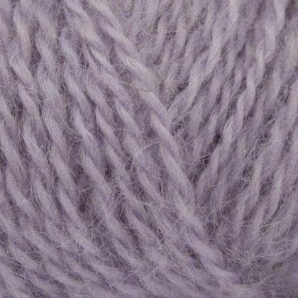 Mohair+Wool, lys lilla