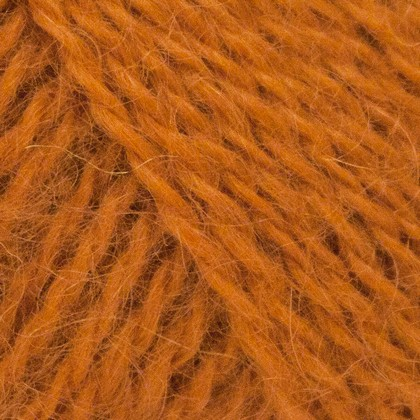 Mohair+Wool, orange