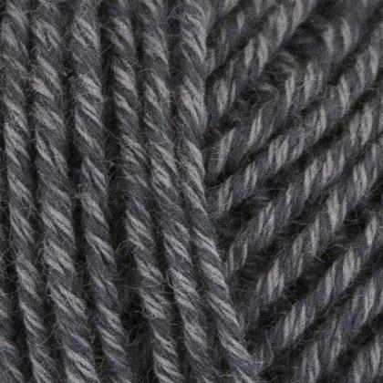 Fino Organic Cotton + Merino Wool, mørk grå