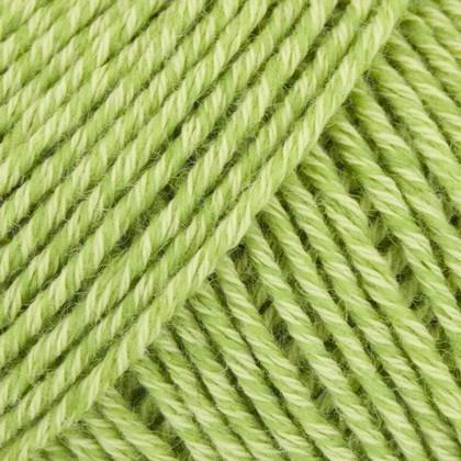 Fino Organic Cotton + Merino Wool, forårsgrøn