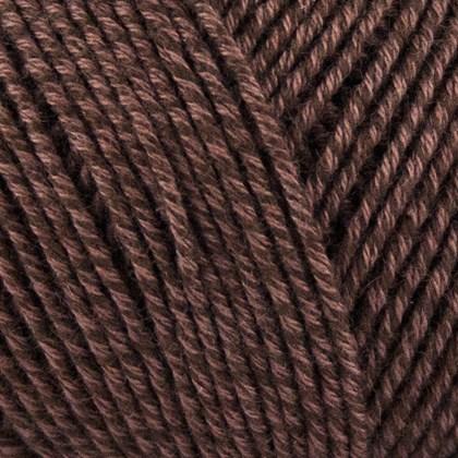 Fino Org. Cotton+Merino Wool, brun
