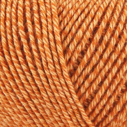 Fino Org. Cotton+Merino Wool, orange