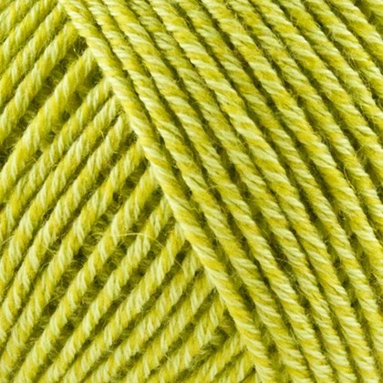 Fino Organic Cotton+Merino Wool, lime