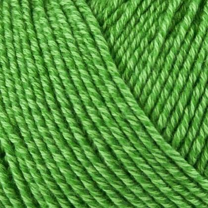 Fino Organic Cotton+Merino Wool, græsgrøn